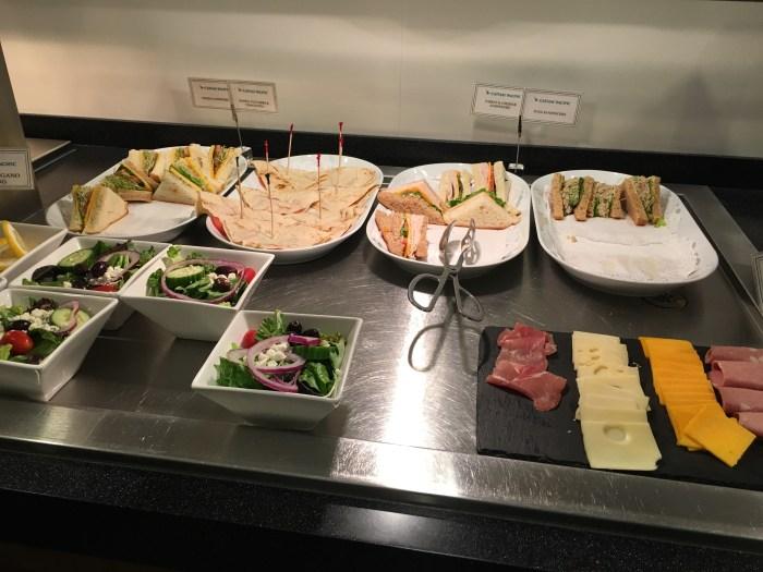 cathay pacific lounge san francisco sfo food 700x525 - Cathay Pacific Lounge San Francisco SFO review