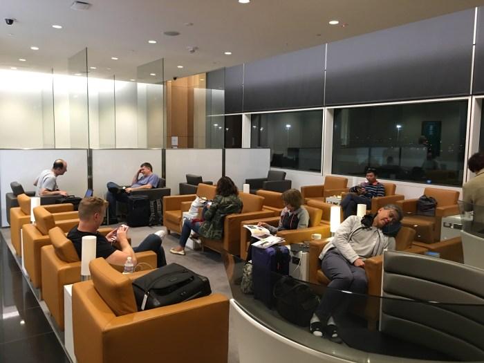 cathay pacific lounge san francisco sfo 700x525 - Cathay Pacific Lounge San Francisco SFO review