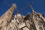 sagrada familia construction - A visit to the Sagrada Familia in Barcelona, Spain