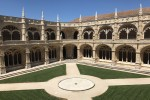 jeronimos monastery courtyard - A tour of Belem and the Age of Discovery in Lisbon, Portugal