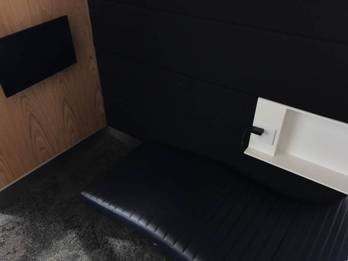 aspire lounge transborder departures calgary airport yyc nap room 700x525 - Aspire Lounge Transborder Departures Calgary Airport YYC review
