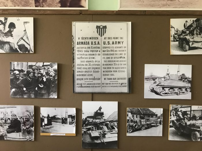 demarcation line museum exhibits 700x525 - A visit to the Demarcation Line Museum in Rokycany, Czech Republic