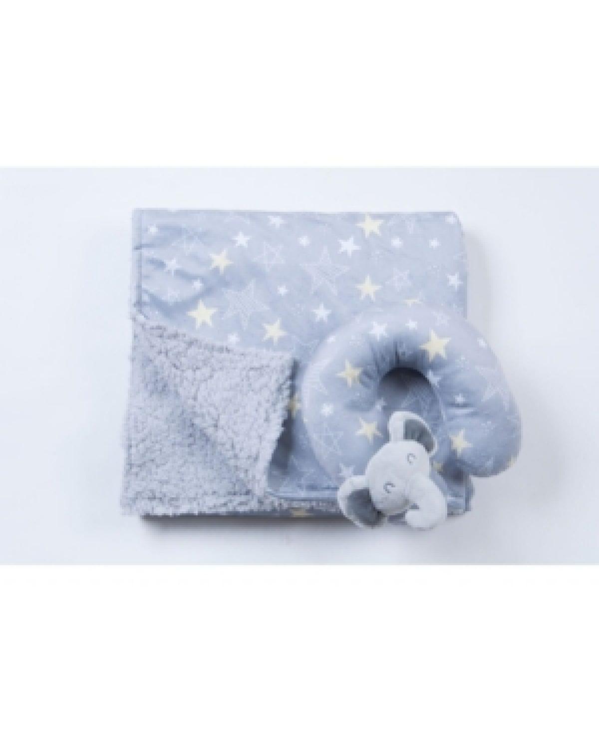 tadpoles travel pillow and blanket set crib bedding