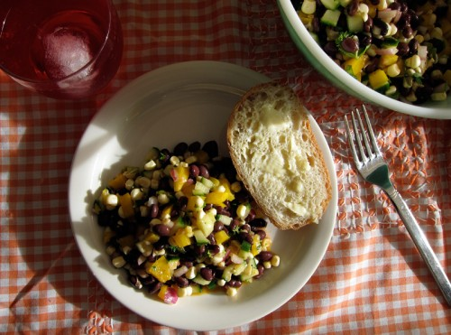 corn & black bean salad