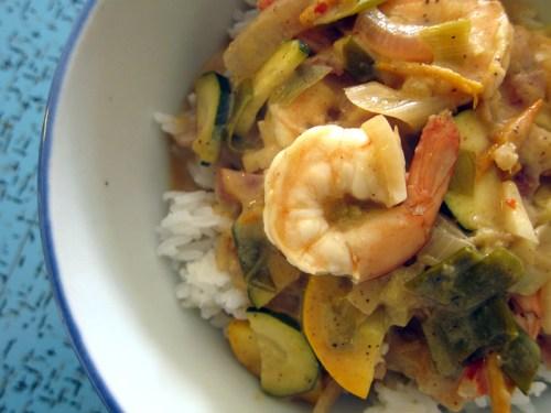shrimp masala curry