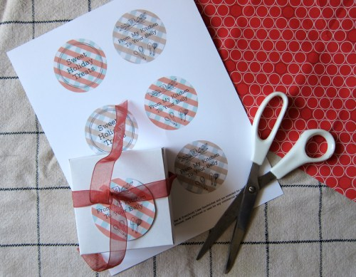 sweet holiday treats cut-out