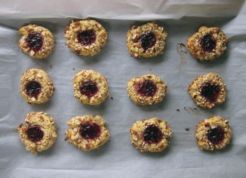 raspberry thumbprint cookies | everybody likes sandwiches