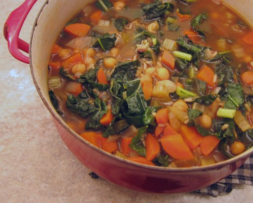 wild rice, chickpea & kale soup | everybody likes sandwiches