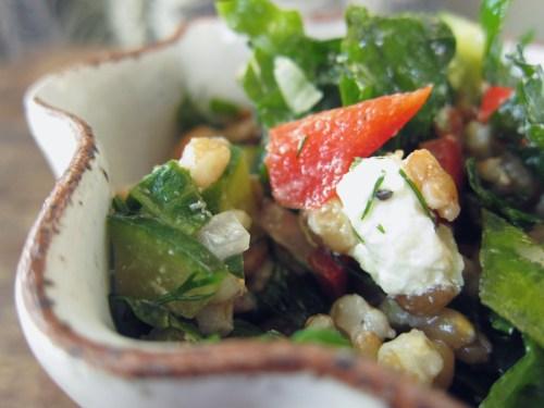 kale & farro salad | everybody likes sandwiches