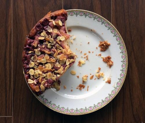 sour cherry yogurt almond cake | everybody likes sandwiches