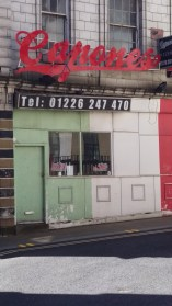 This was K2 kebab shop, and home of the Standard Box. Now a (closed looking) Italian restaurant.