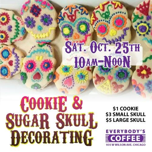 Cookie & Sugar Skull Painting