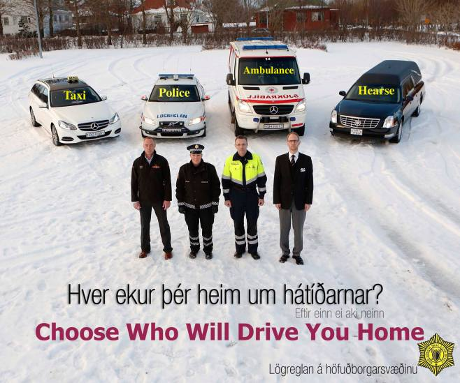 Icelandic Govt PSA - Choose Wisely