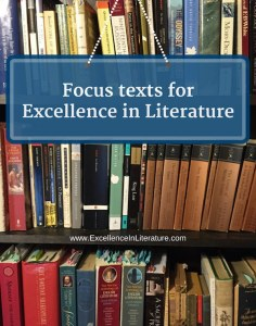 Links to focus texts for the Excellence in Literature curriculum.