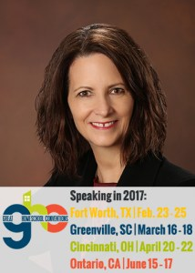 Janice Campbell, featured speaker at the Great Homeschool Conventions