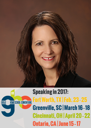 Janice Campbell, featured speaker at Great Homeschool Conventions