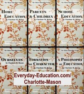 The Charlotte Mason Home Education series will help you learn to homeschool more effectively.