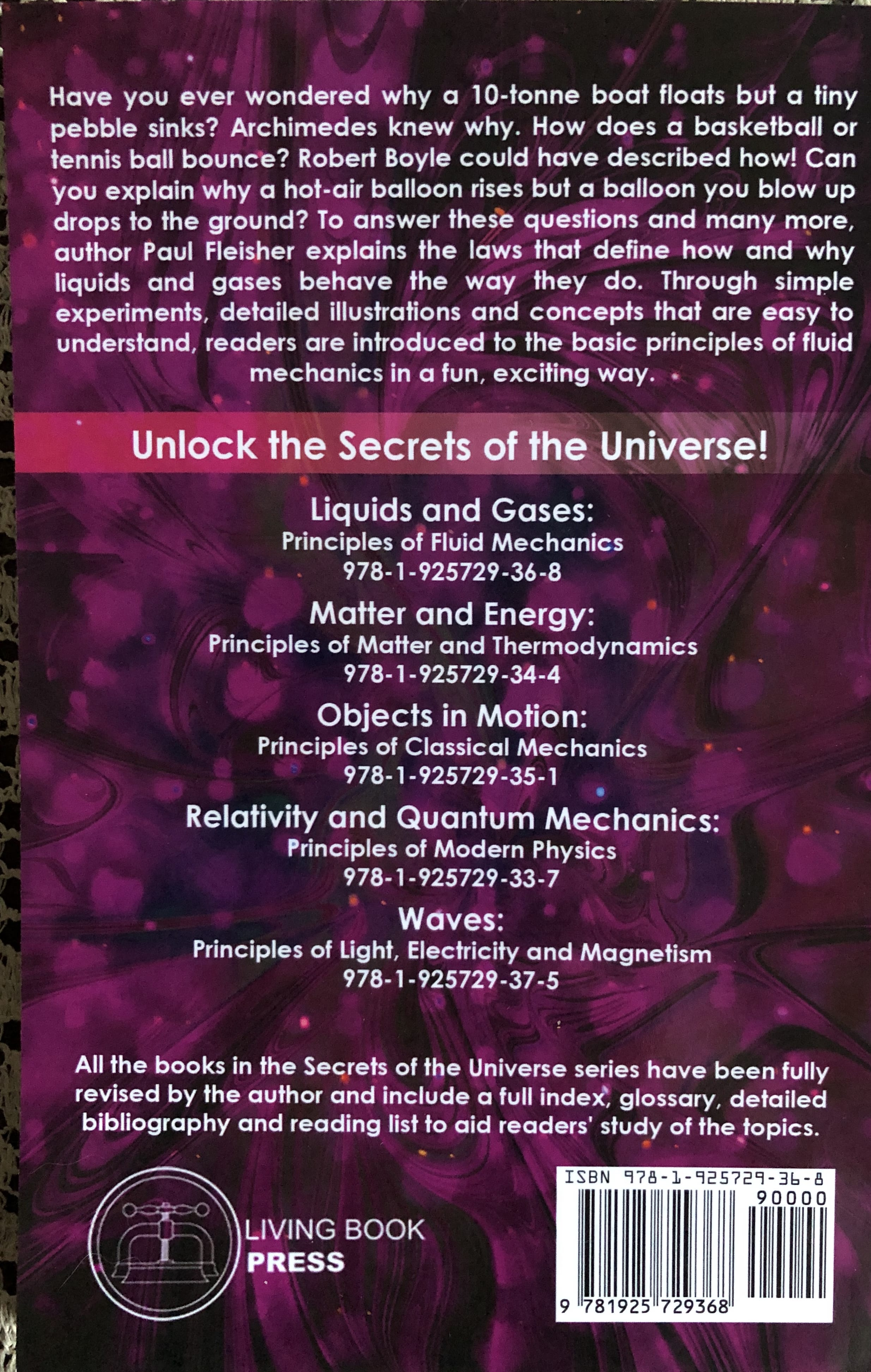 Liquids and Gases: Secrets of the Universe - Paul Fleisher