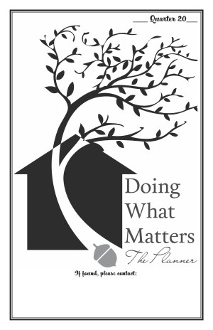 Doing What Matters Printable Planner