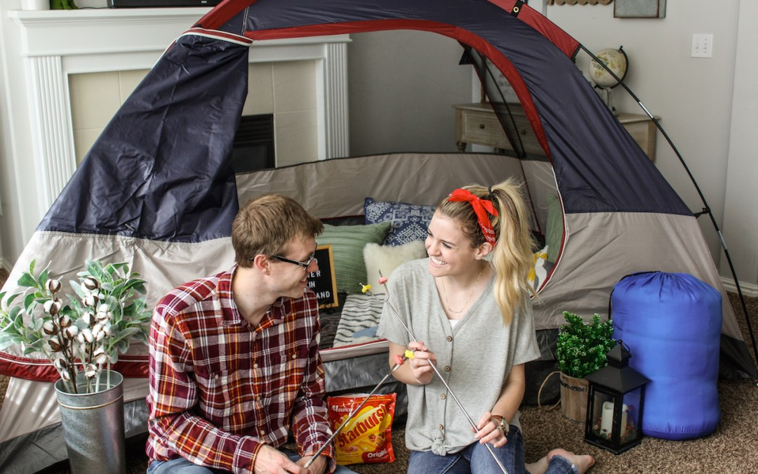 Living Room Campout: Date Night In