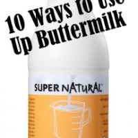 10 Ways to Use Buttermilk
