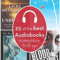 Reading with Your Ears: 25 of My Favorite Audiobooks