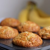 Everyday Banana Muffins