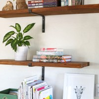House Project: Family Room Shelves