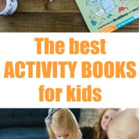 8 Activity Books for Kids