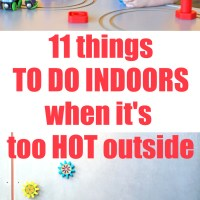 11 Fun Things to Do Indoors When It's Hot Outside