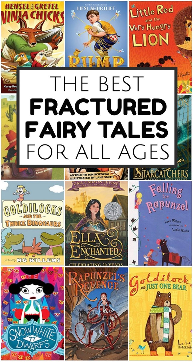 Fractured Fairy Tales: Picture Books and Chapter Books - Everyday
