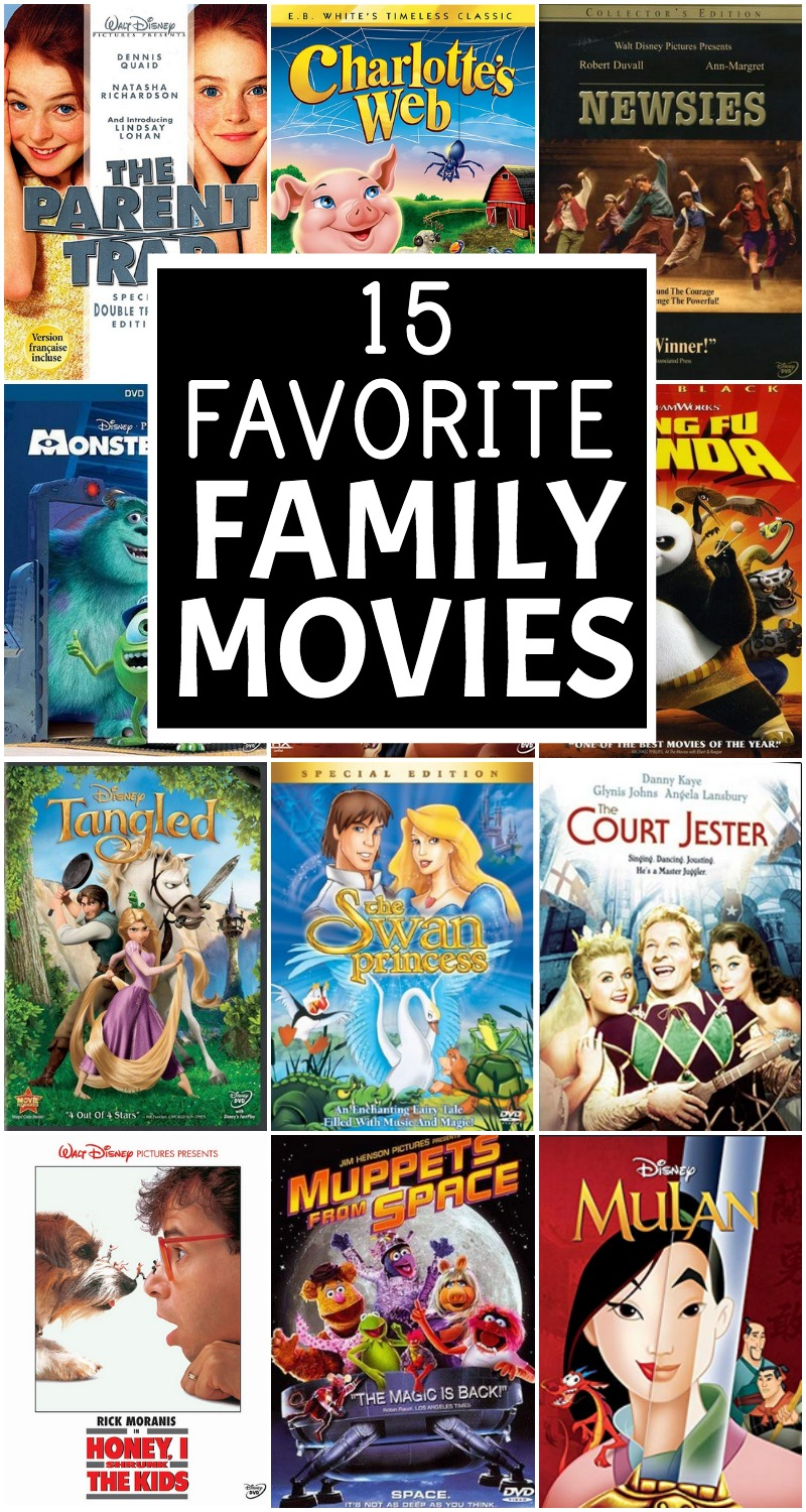 15 favorite family movies Everyday Reading