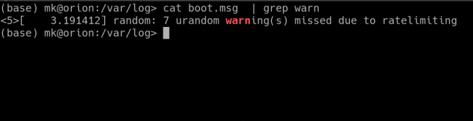 find logs on linux using grep