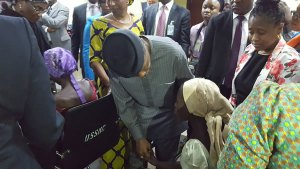 21 Chibok girls meet VP Osinbajo after freedom