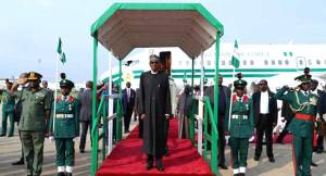 President Buhari appeals for unity at launch of armed forces emblem