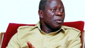 Oshiomhole booed, jeered for attempting to trivialise restructuring debate (Video attached)