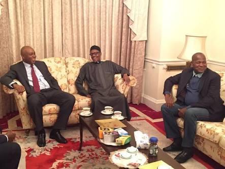 Saraki, Dogara receive President Buhari's resumption letter