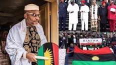 Nnamdi Kanu's whereabout unknown after Army invasion; Governors meet, Army's Egwu Eke II takes off
