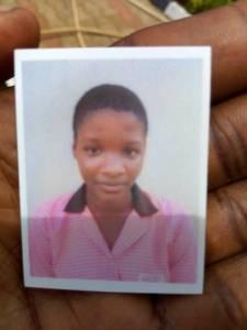 Miss Asmau Ajibade is missing