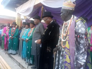 How King Justin of Otuoke saved 17 elders from agony, by Goodluck Jonathan