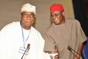 Mark showers encomium on Obasanjo @ 81