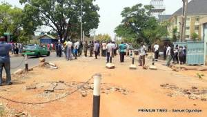 Soldiers, Policemen attached to AEPB clash with road safety officers