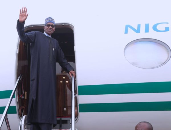 Looters planned protest against Buhari in London, says Presidency