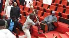 Police recover stolen Senate Mace