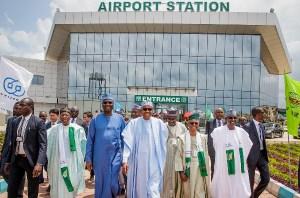 Abuja's Chinese-built N251 billion railway system inaugurated