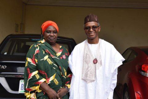 El-Rufai chooses Hadiza Balarabe as running mate
