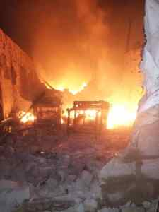 Obosi: 22 shops, Multi million Naira property, machineries razed by fire