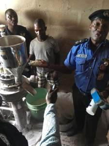 Police uncover fake pharmaceutical factory; parades 4 suspects