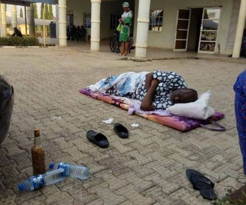 Melaye moved to DSS clinic, sleeps in open space