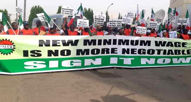Finally, Nigerian govt sets date for minimum wage bill